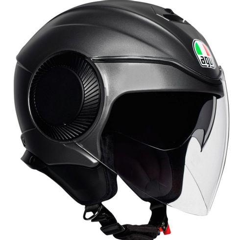 Capacete-AGV-Orbyt-Matt-Black-1