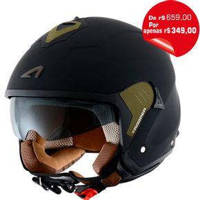 Capacete-Astone-Minijet-S-Trooper-Matt-Black-Brown-1