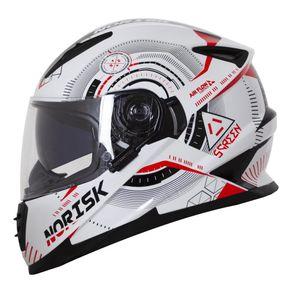 Capacete-Norisk-FF302-Screen-White-Black-Red-1