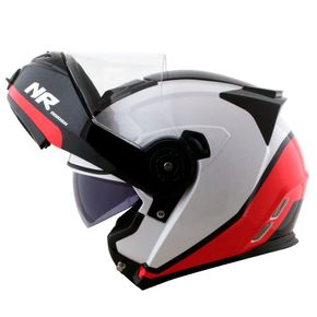 Capacete-Norisk-FF345-Route-Chance-White-Red-Black-1