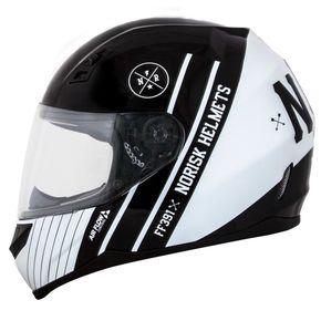 Capacete-Norisk-FF391-Knight-Black-White-1