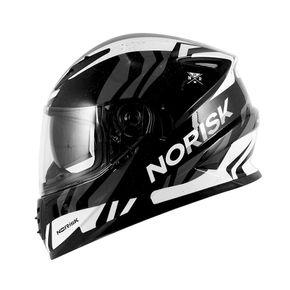 Capacete-Norisk-FF302-Jungle-Black-White-Grey-1