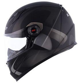 Capacete-LS2-FF358-Velvet-Matt-Black-Grey-1