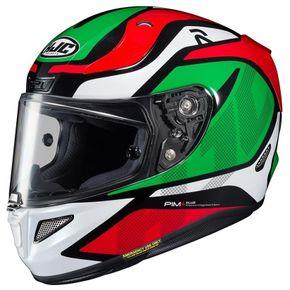 Capacete-HJC-RPHA-11-Deroka-Verde-Vermelho-1