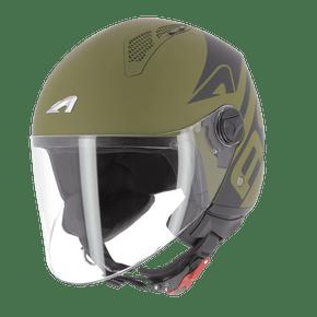 Capacete-Astone-MiniJet-Link-Verde-Exercito-Fosco-1