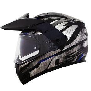 Capacete-LS2-FF324-Metro-Evo-Buzz-Matt-Black-Titanium-Blue-1