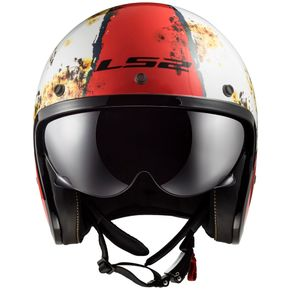 Capacete-LS2-Of599-Spitfire-Rust-White-Red-1
