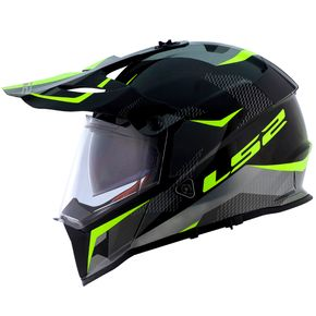 Capacete-LS2-MX436-Pioneer-Ring-Black-Titanium-Yellow-1