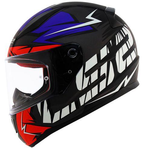 Capacete-LS2-FF353-Rapid-Cromo-Matt-Black-Red-Blue-1