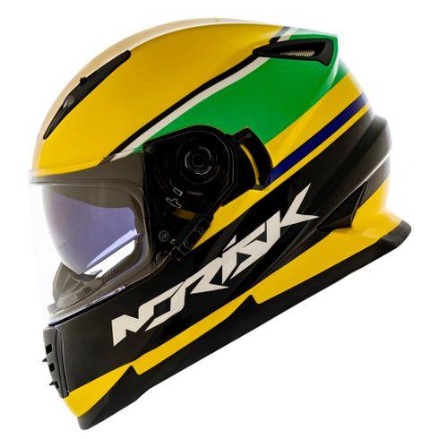 Capacete-Norisk-FF302-Champion-Yellow-1