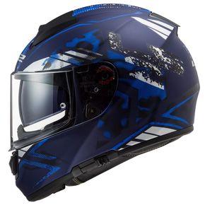 Capacete-LS2-FF397-Vector-Stencil-Matt-Blue-1