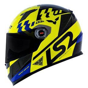 Capacete-LS2-FF358-Podium-Yellow-Black-Blue-1