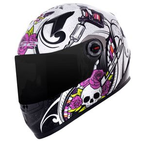 Capacete-LS2-FF358-Pigment-White-Black-1