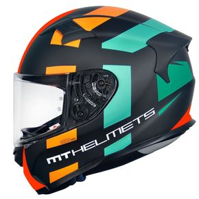 Capacete-MT-KRE-Sign-Matt-Orange-Fluor-1