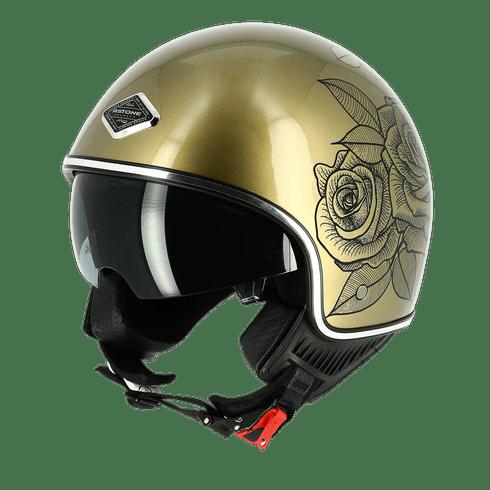 Capacete-Astone-Minijet-66-Graphic-Roses-Gold-1