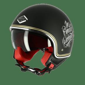 Capacete-Astone-Minijet-66-Memento-Mori-Matt-Black-1