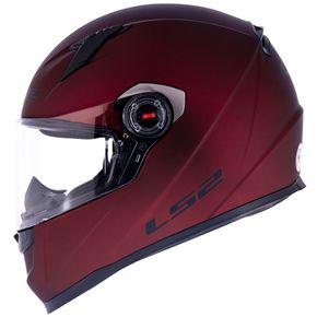 Capacete-LS2-FF358-Matt-Red-1