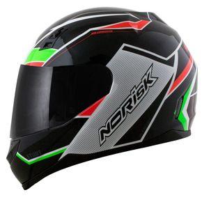 Capacete-Norisk-FF391-Storm-Black-Green-Red-1