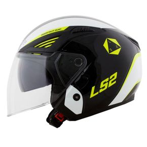Capacete-LS2-OF586-Bishop-Rising-Black-White-Fluo-Yellow-1