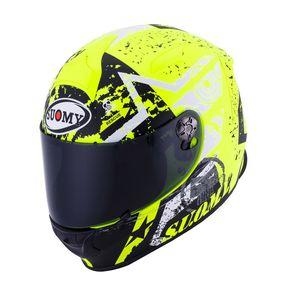 Capacete-Suomy-SR-Sport-Star-Matt-Yellow-Fluor-1