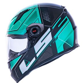 Capacete-LS2-FF358-Ultra-Black-Green-1