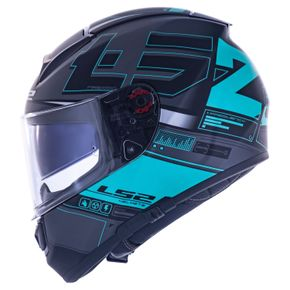 Capacete-LS2-FF397-Vector-Frequency-Matt-Black-Green-1
