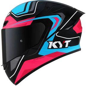 Capacete-KYT-TT-Course-Overtech-Black-Blue-Pink-1