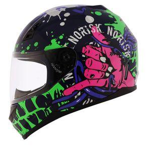 Capacete-Norisk-FF391-Zombie-Blue-Green-Pink-1