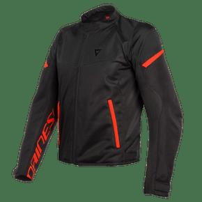 Jaqueta-Dainese-Bora-Air-Tex-Black-Fluo-Red-1