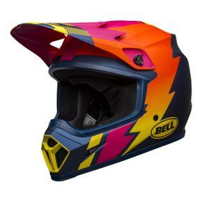 Capacete-Bell-MX9-Mips-Strike-Matt-Blue-Orange-Pink-1