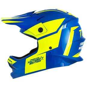 Capacete-Pro-Tork-Cross-Infantil-Factory-Edition-Azul-Amarelo-1